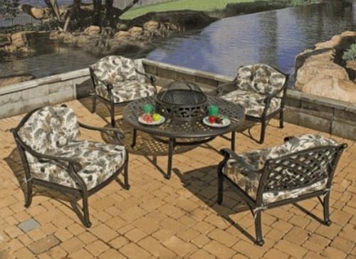 Cast Aluminum Used Cast Aluminum Patio Furniture