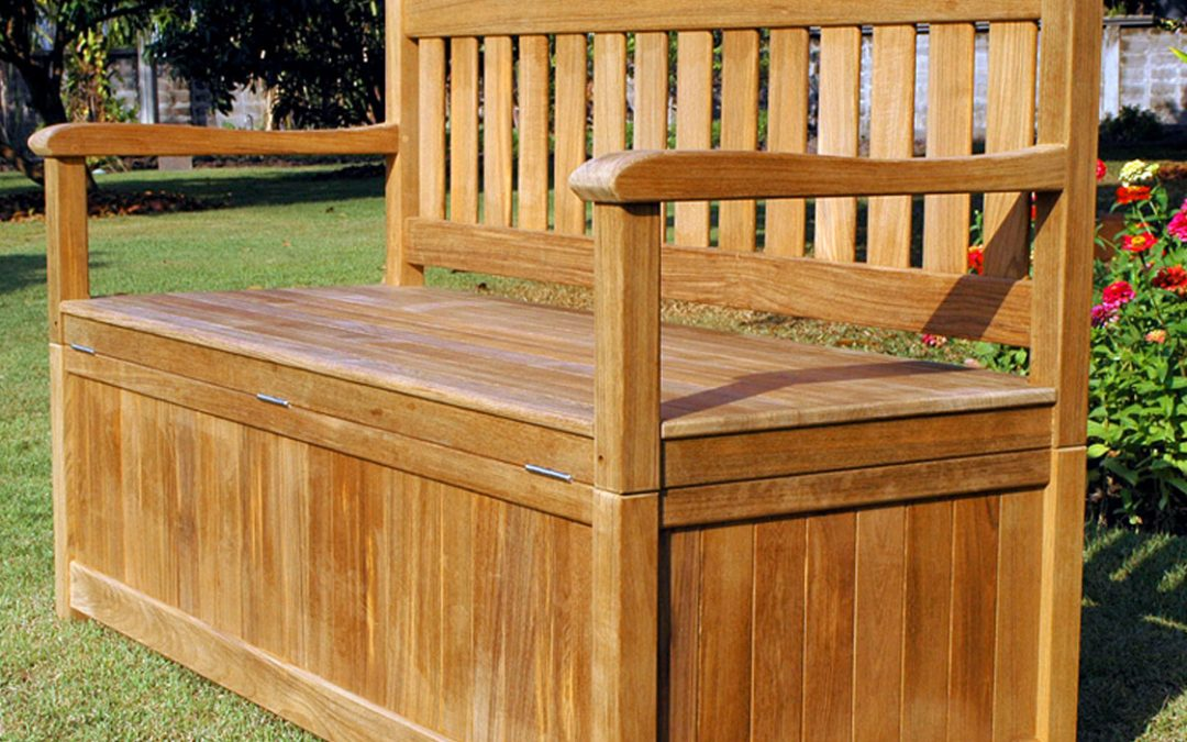 Storage Benches – Doing Double Duty